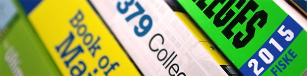 College Admissions Guide Books