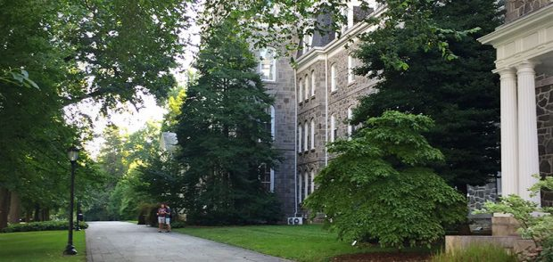 Swarthmore College Campus View