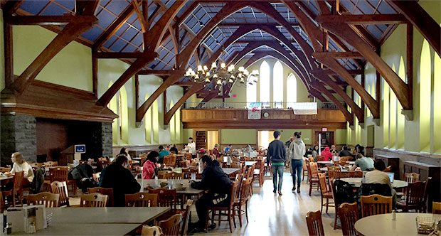 Commons Dining Hall, Hamilton University
